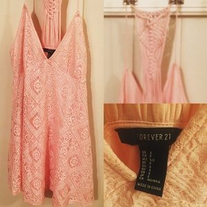 Forever 21 light pink sundress